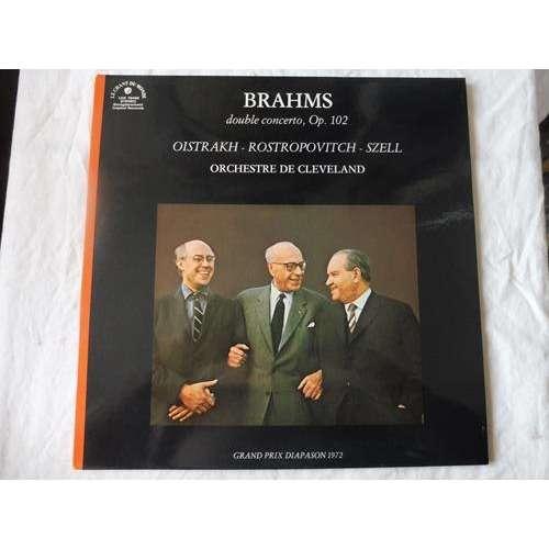 OISTRAKH / ROSTROPOVITCH / SZELL brahms : double concerto en la mineur Op.102