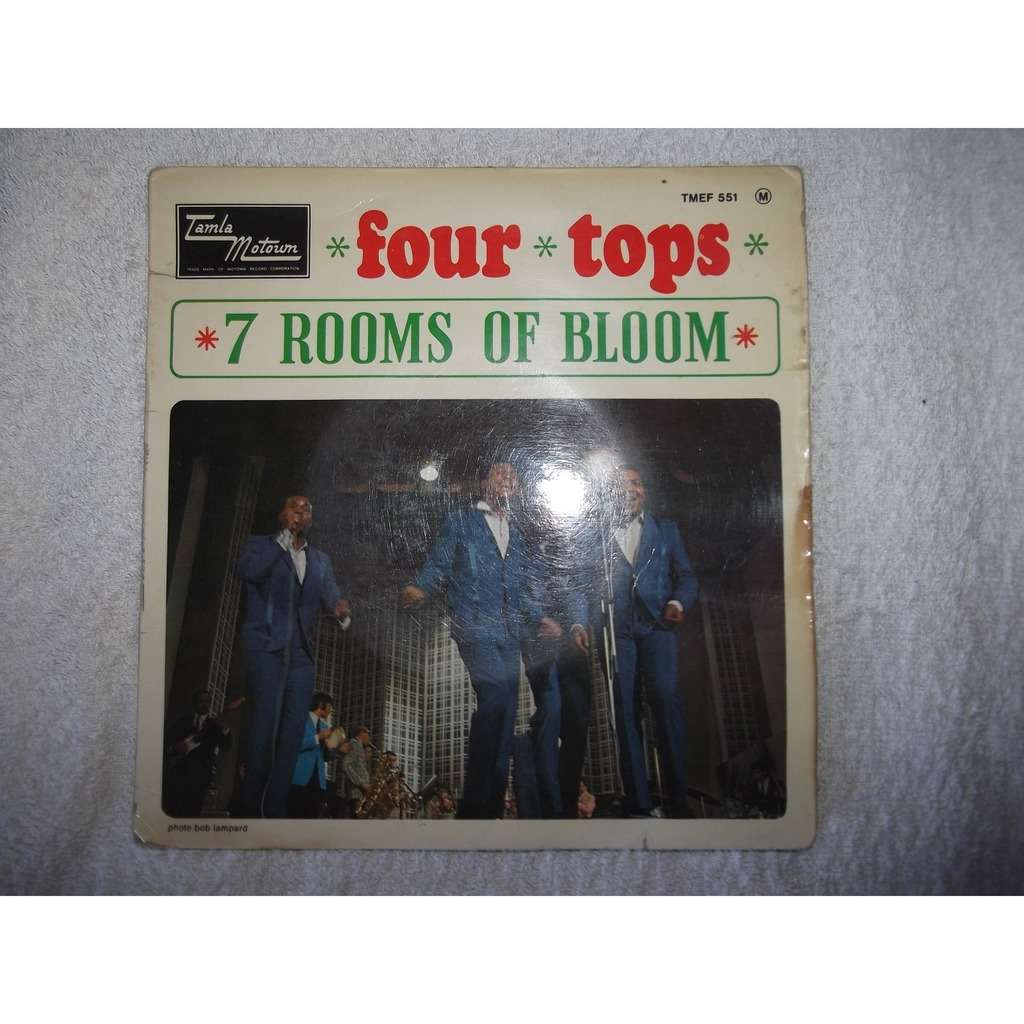 FOUR TOPS 7 rooms of gloom + 3 titles