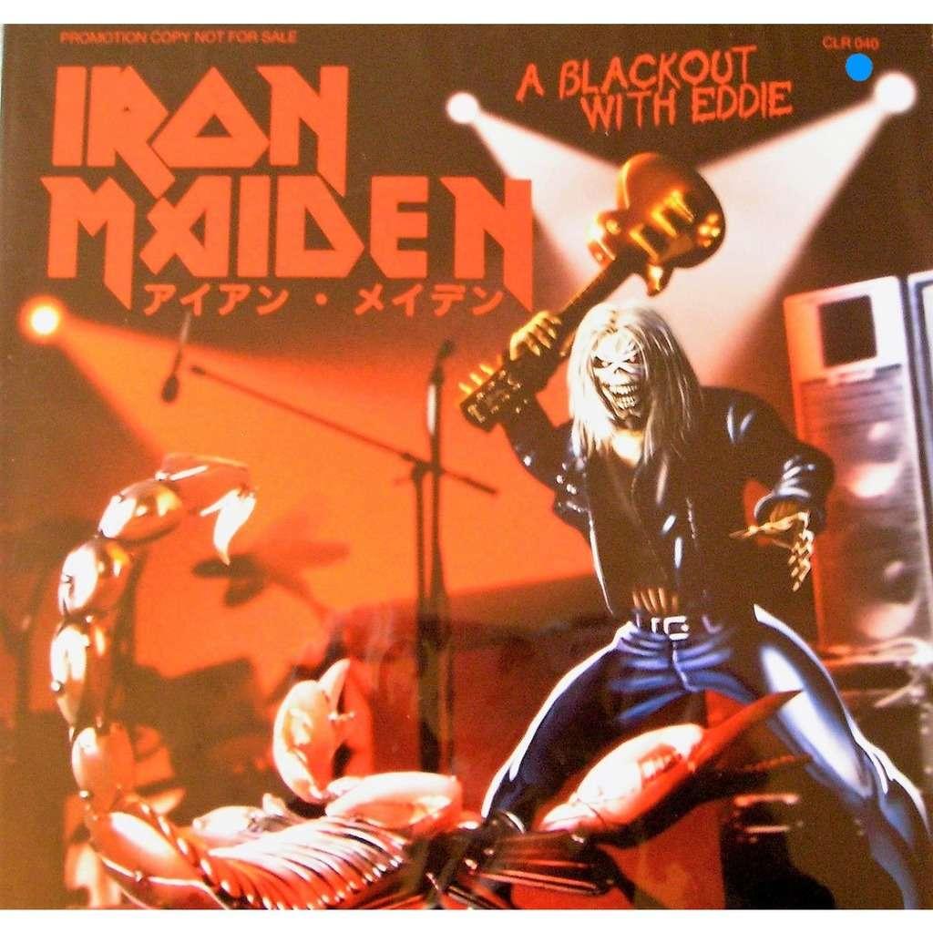 Iron Maiden A Blackout With Eddie (lp)