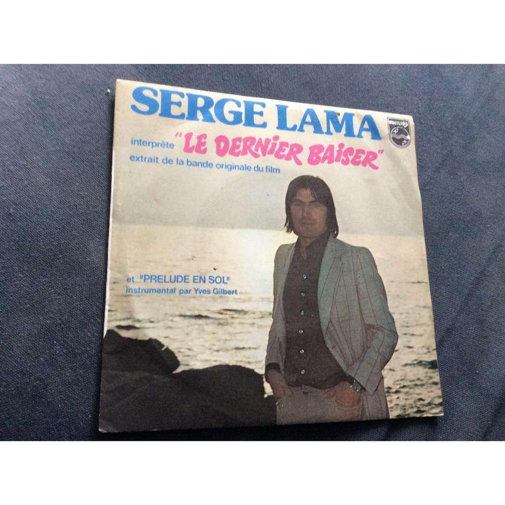 serge lama Le dernier baiser