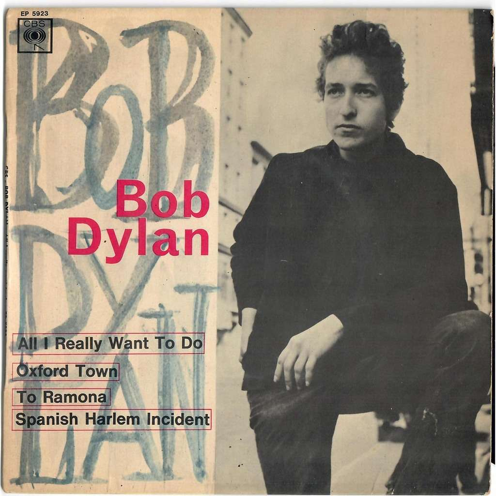 Bob Dylan All I really want to do