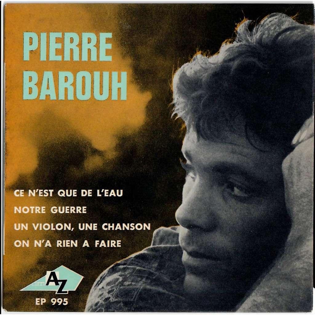 Pierre Barouh Ce n'est que de l'eau