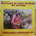 PAPILLON DU POLY RYTHMO - En action - Ambiance africana n°1 - LP