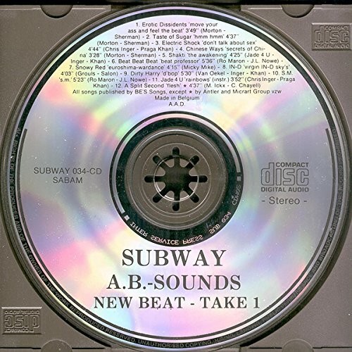 erotic dissidents / taste of sugar / snowy red /SM New Beat - Take 1 (A.B.-Sounds)