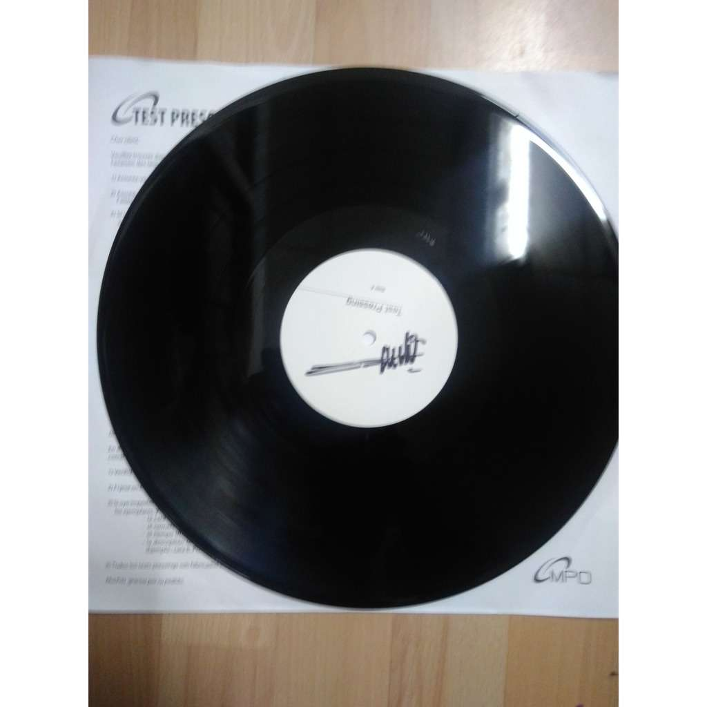 broc recordz : janko nilovic Supra hip hop impressions test press dedicacé - 33T