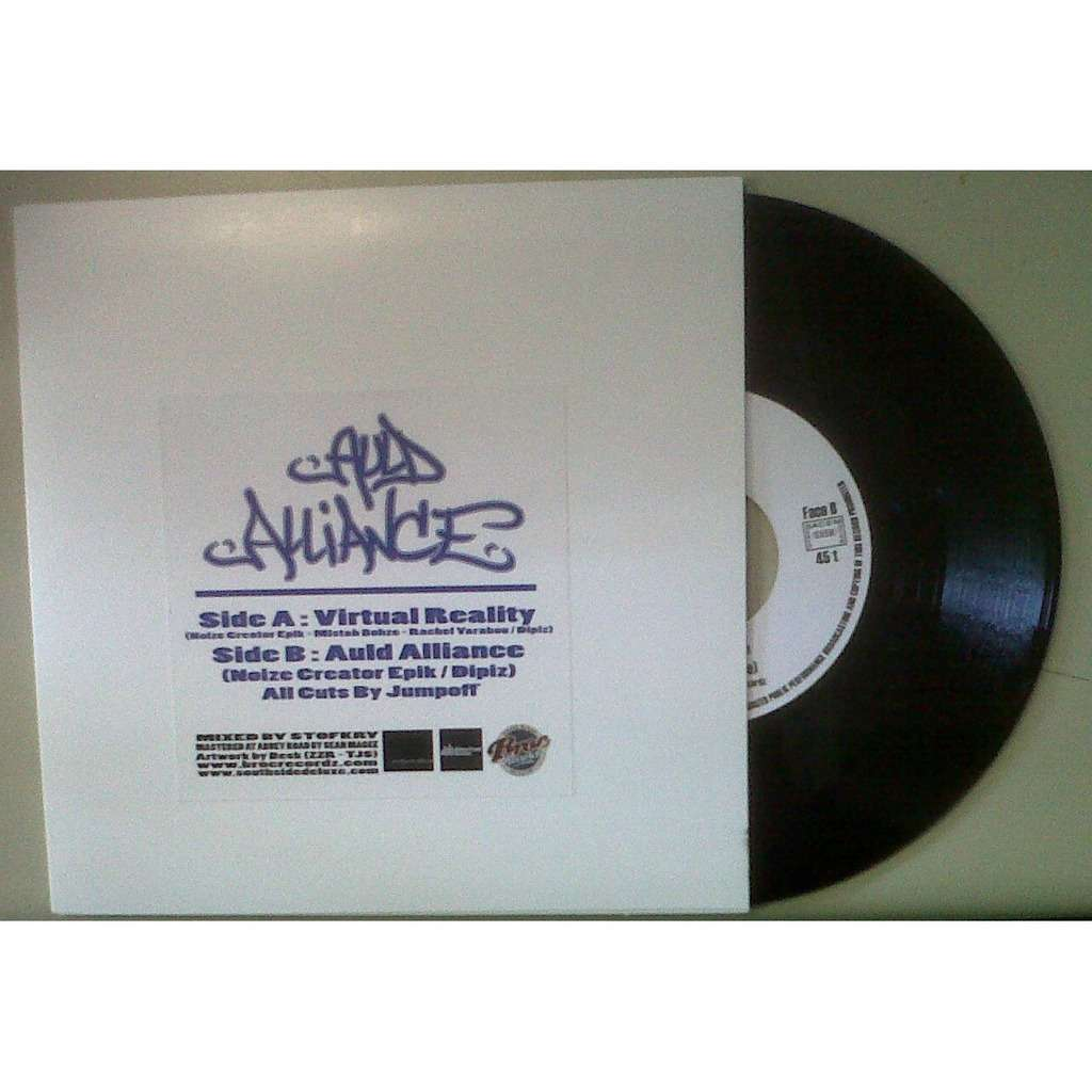 broc recordz : auld alliance virtual reality - 7inch SP