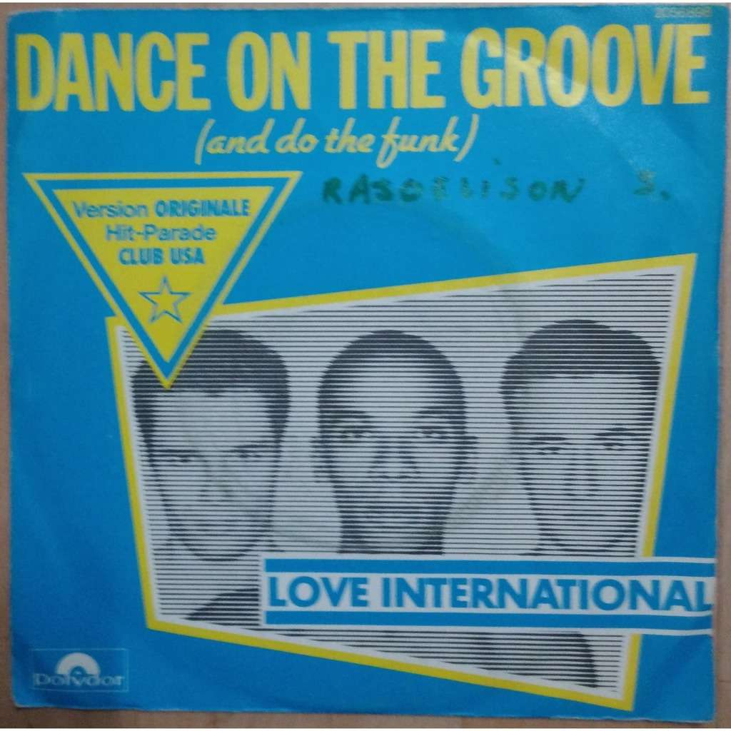 love international dance on the groove / Airport of love