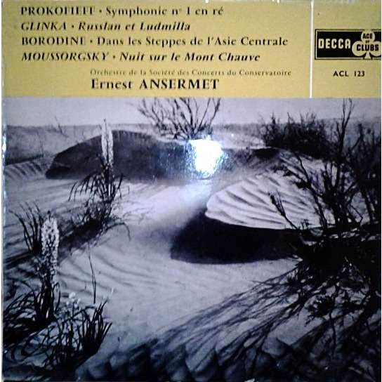 Sergei Prokofiev Mikhail Ivanovich Glinka Alexande Classical Symphony/Russlan And Ludmila/In The Steppes Of Central Asia/Night On The Bare Mountain