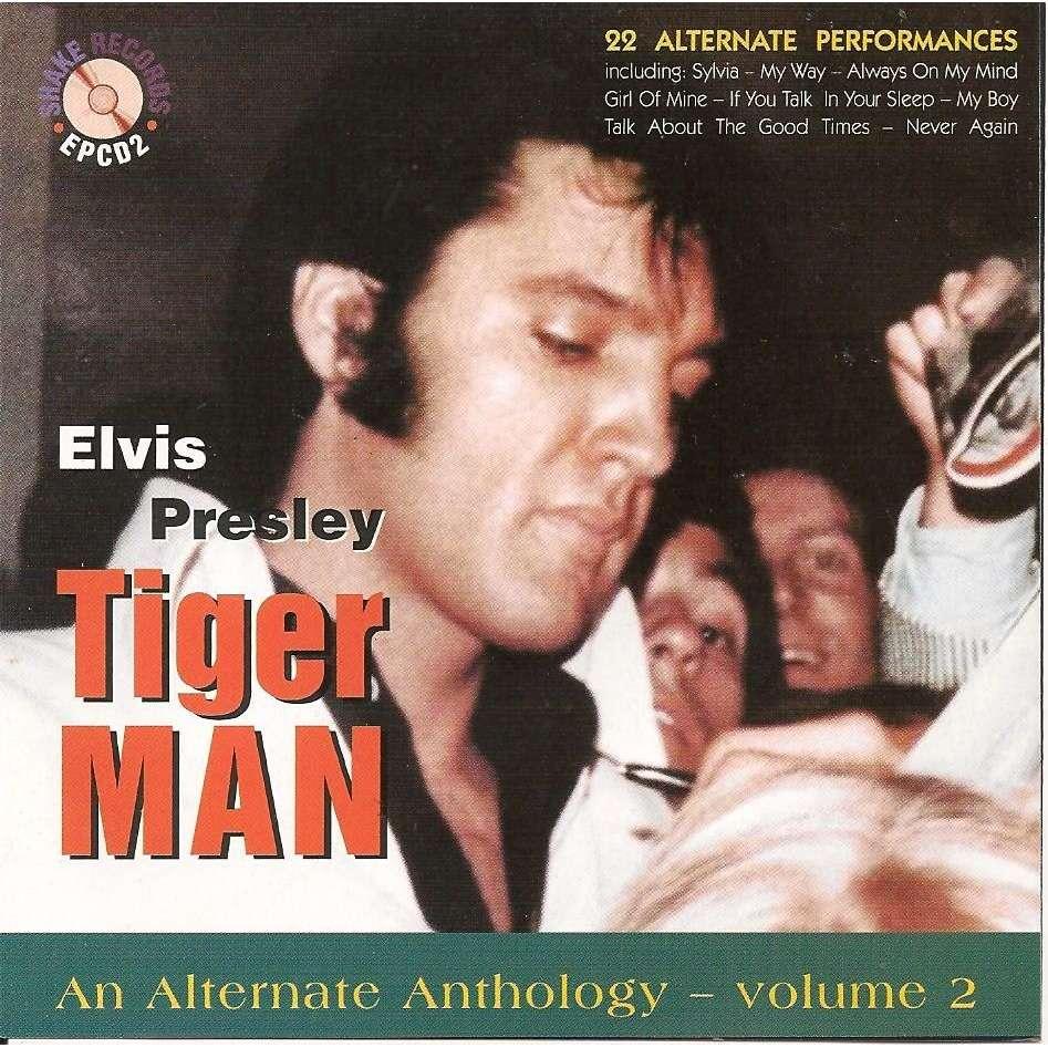elvis presley cd tiger man anthology vol.2 cd 22 outtakes