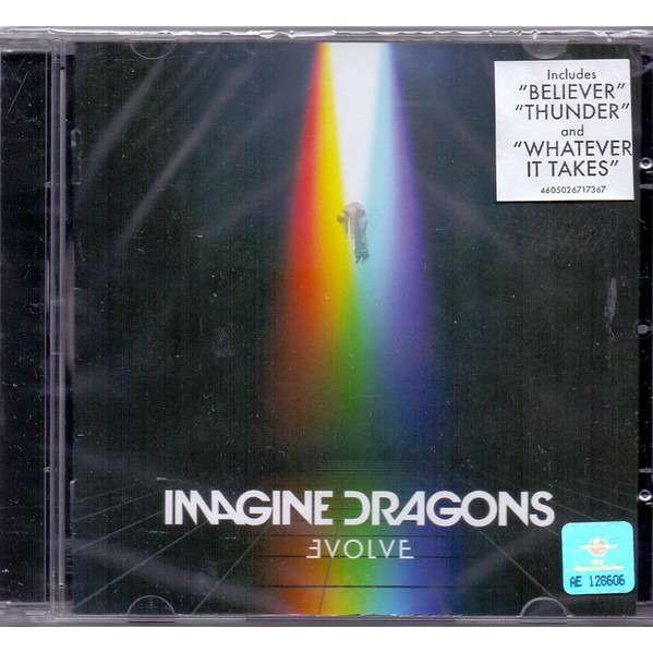 imagine dragons cd  Evolve by Imagine Dragons, CD with techtone11 - Ref:118872748
