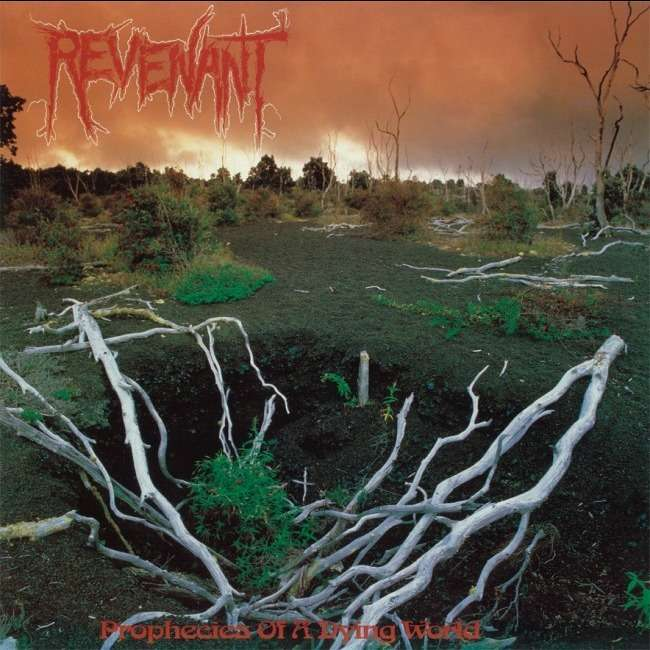 REVENANT Prophecies of a Dying World. Red & Orange Vinyl