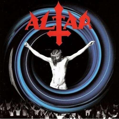 ALTAR Youth Against Christ. Black Vinyl