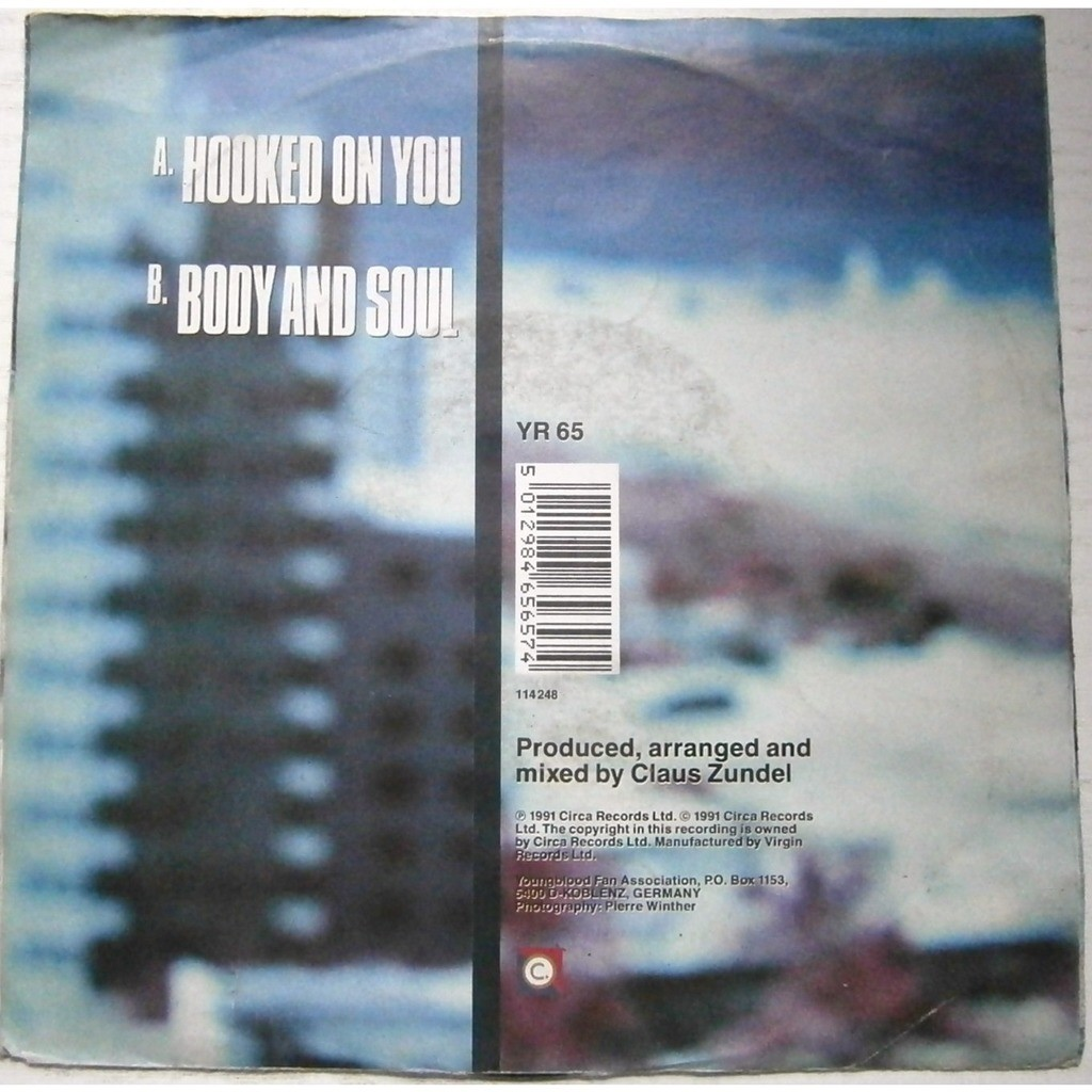sydney youngblood hooked on you