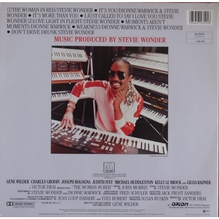 stevie wonder la fille en rouge