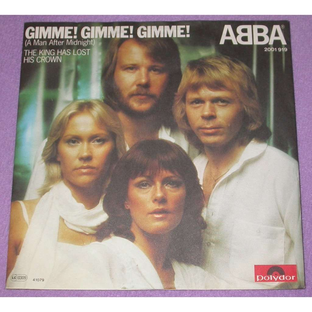 Abba Gimme! Gimme! Gimme! (A Man After Midnight)