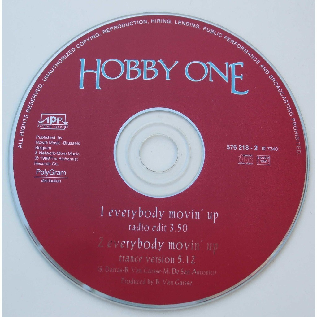 Hobby One Everybody movin' up