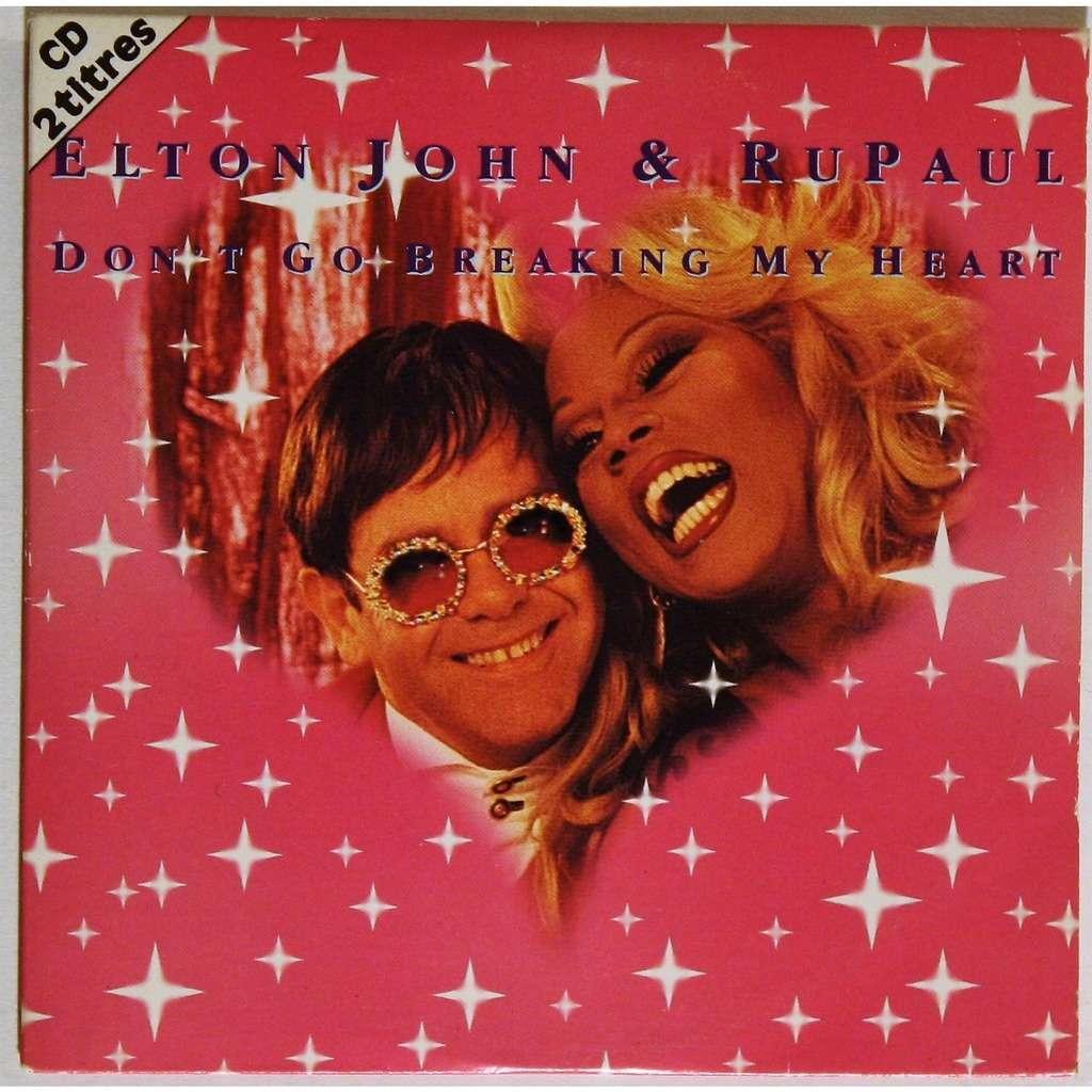 Elton John & RuPaul Don't go breaking my heart