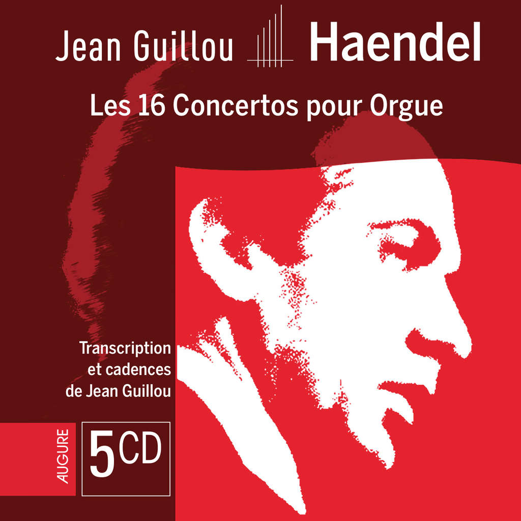 Jean Guillou Handel - Les 16 Concertos pour Orgue