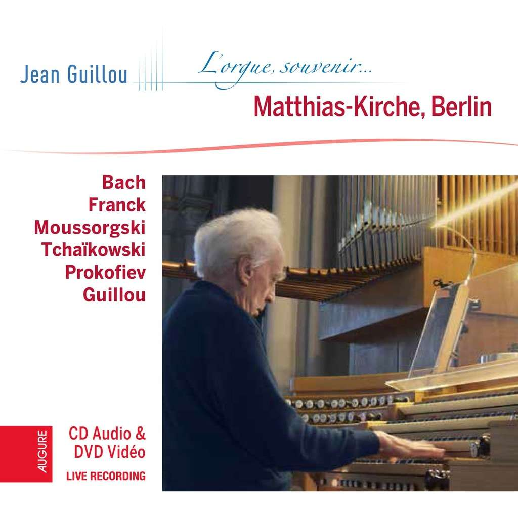 jean guillou à Saint-Matthias, Berlin - vol. 1