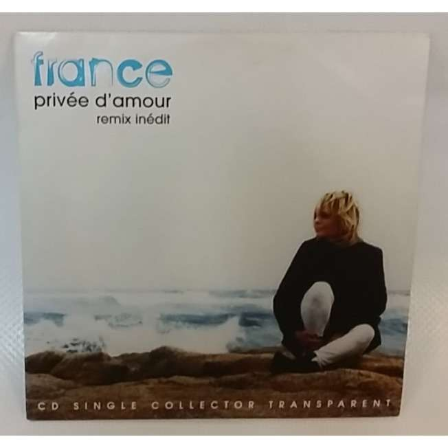 FRANCE GALL PRIVEE D'AMOUR(Remix inéditi)-Limited édition 1 track CD promo  cardboard sleeve-2015-France