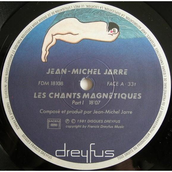 jean michel jarre Les Chants Magnétiques = Magnetic Fields
