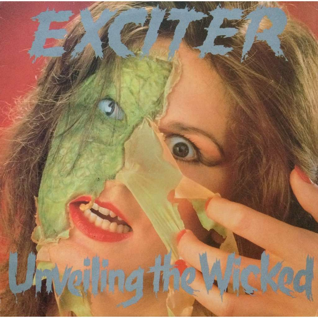 EXCITER - UNVEILING THE WICKED (U.K. PRESSING 12 VINYL LP COMP. W/INNER)