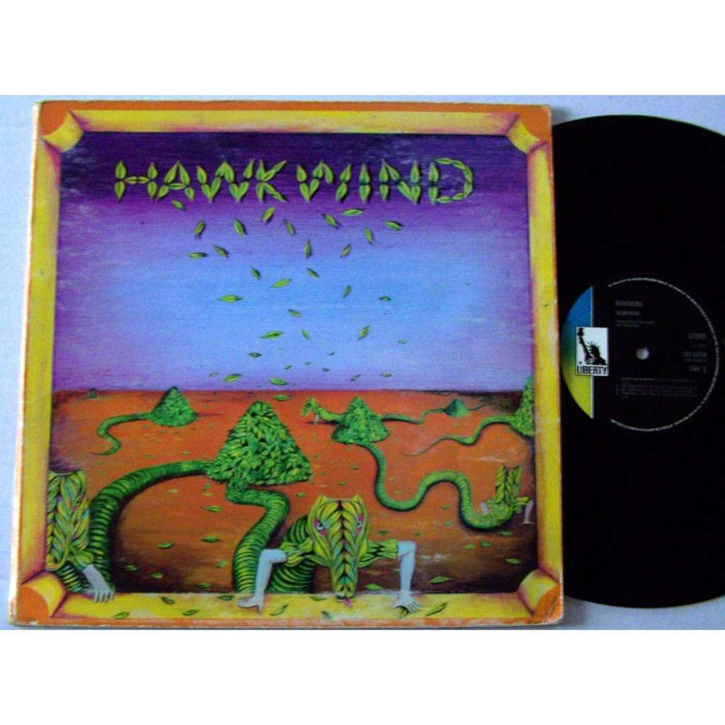 hawkwind LP hurry on sundown
