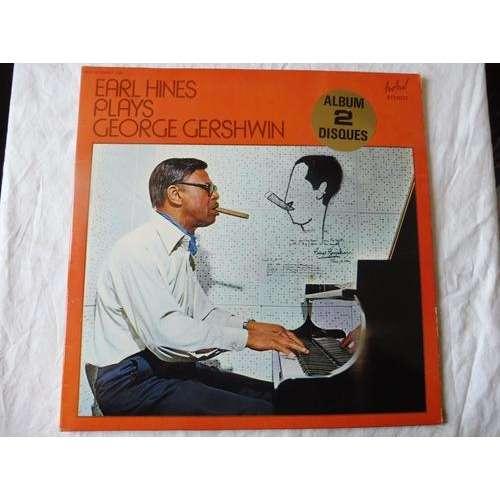EARL HINES EARL HINES PLAYS GEORGE GERSHWIN - ( double lp 12 stéréo )