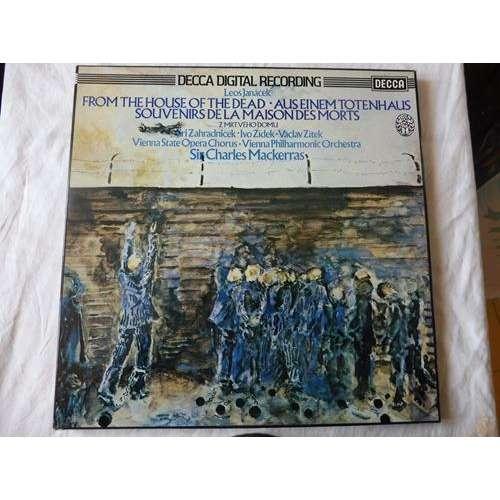 sir charles mackerras, jiri zahradnicek Janacek : From The House Of The Dead - ( 2 lp set box stéréo digital near mint condition )