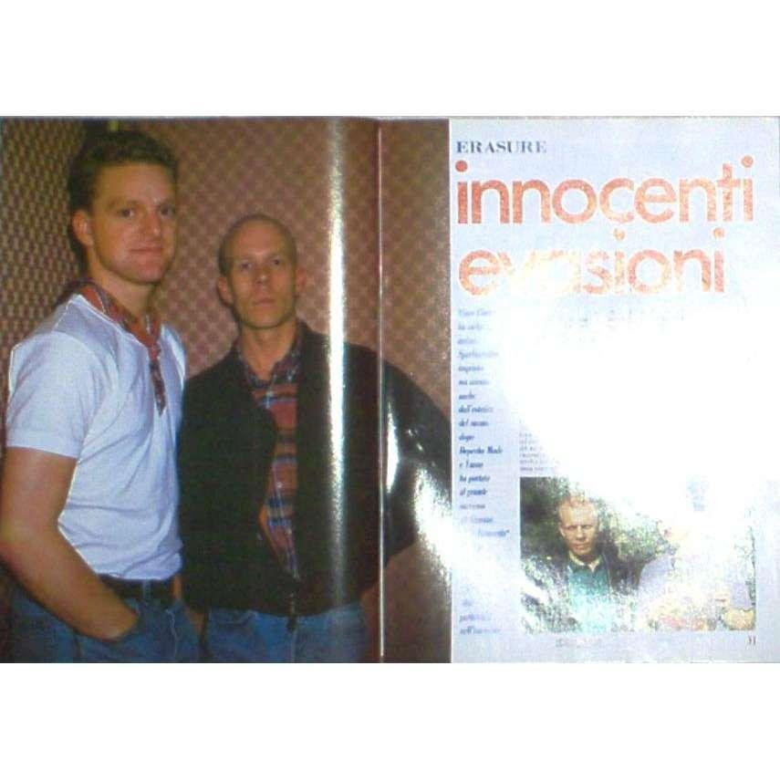 Erasure Ciao 2001 (20.07.1988) (Italian 1988 music magazine)