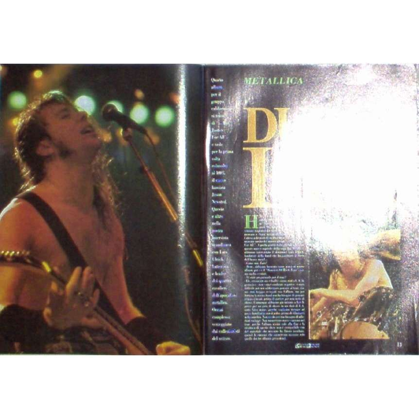 Metallica Ciao 2001 (20.07.1988) (Italian 1988 music magazine)