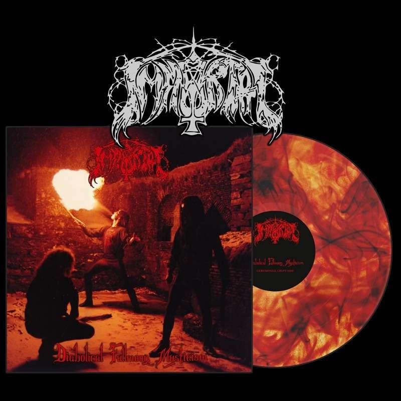 IMMORTAL Diabolical Fullmoon Mysticism. Marble Vinyl