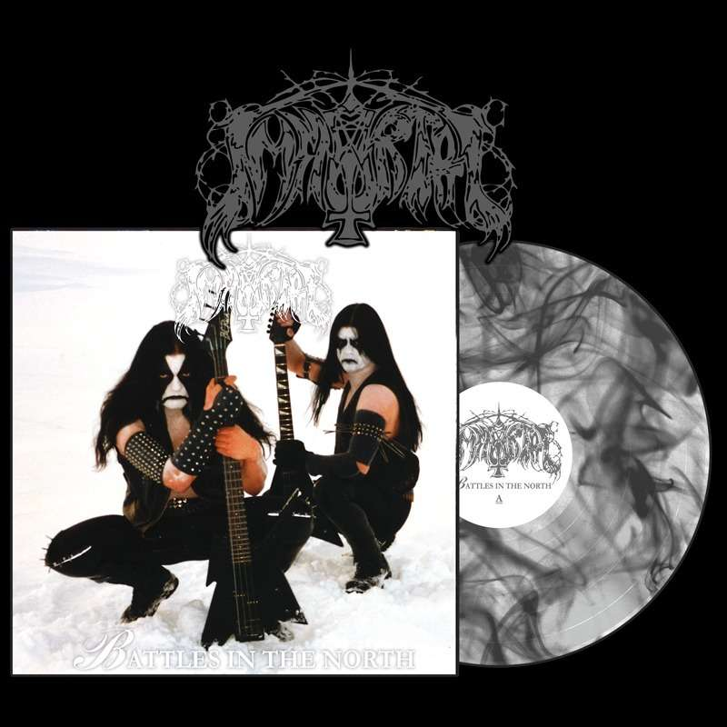 IMMORTAL Battles in the North. Marble Vinyl