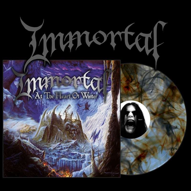 IMMORTAL At the Heart of Winter. Marble Vinyl