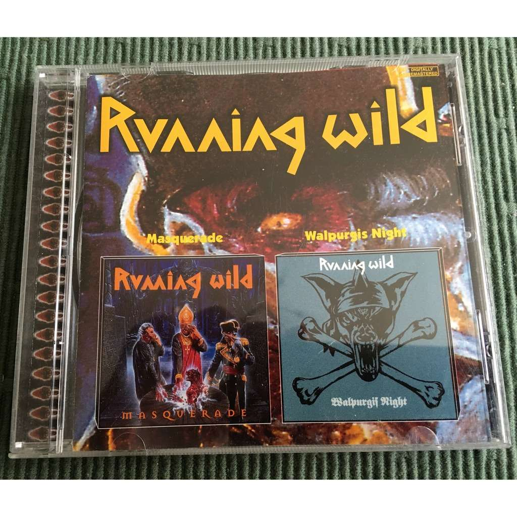 Running Wild Masquerade / Walpurgis Night (Agat Records) Russian Pressing