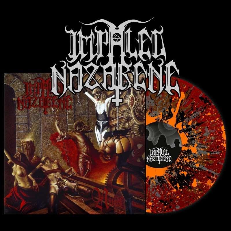 IMPALED NAZARENE Nihil. Splatter Vinyl