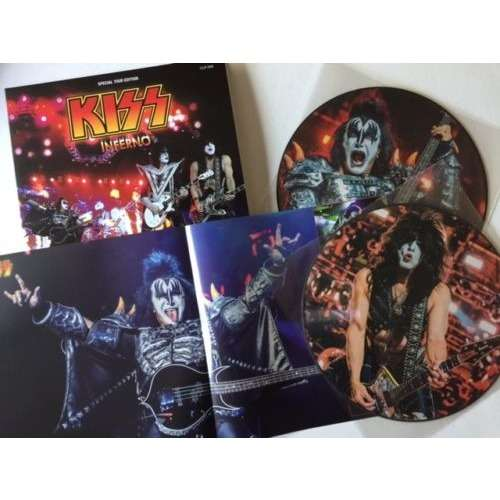 Inferno 2xlp Ltd Edit Pict Disc With Poster E U By Kiss