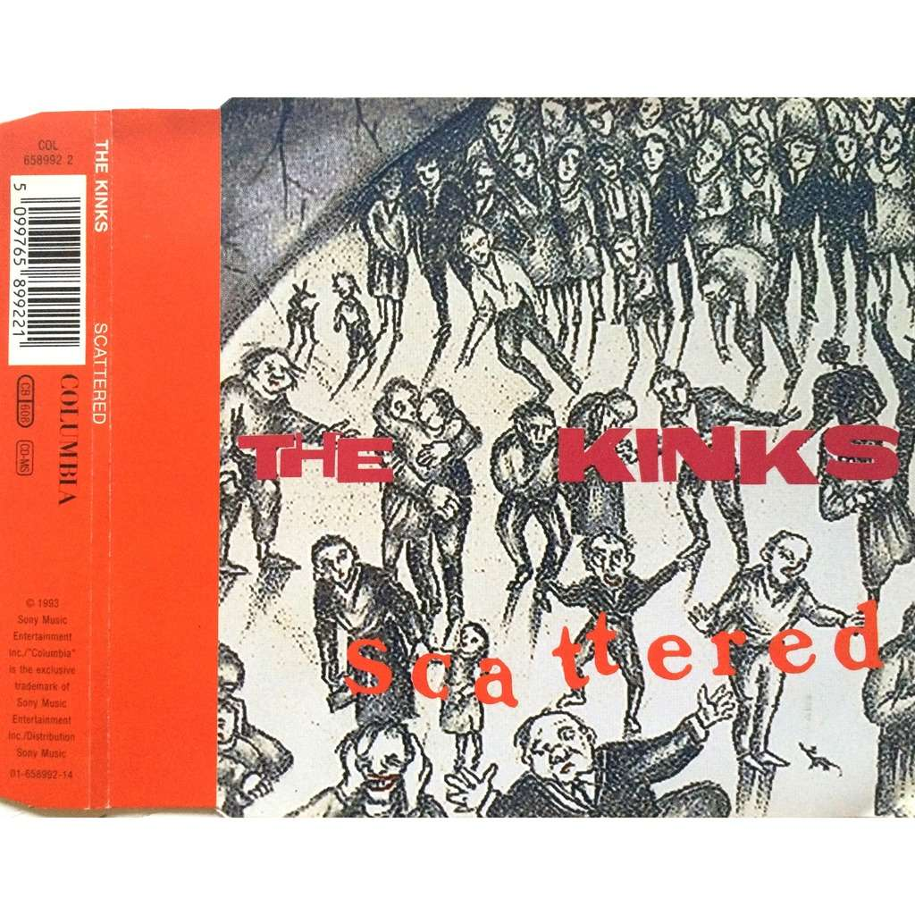 THE KINKS - SCATTERED (AUS. PRESSING 3 TRK 1 MAXI-CD)