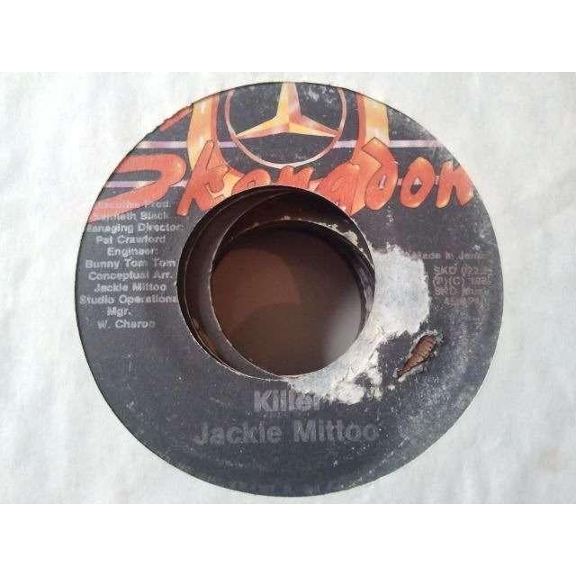JOHNNY OSBOURNE JUNIOR DELGADO JACKIE MITTOO COVER TO KILLER ORIG