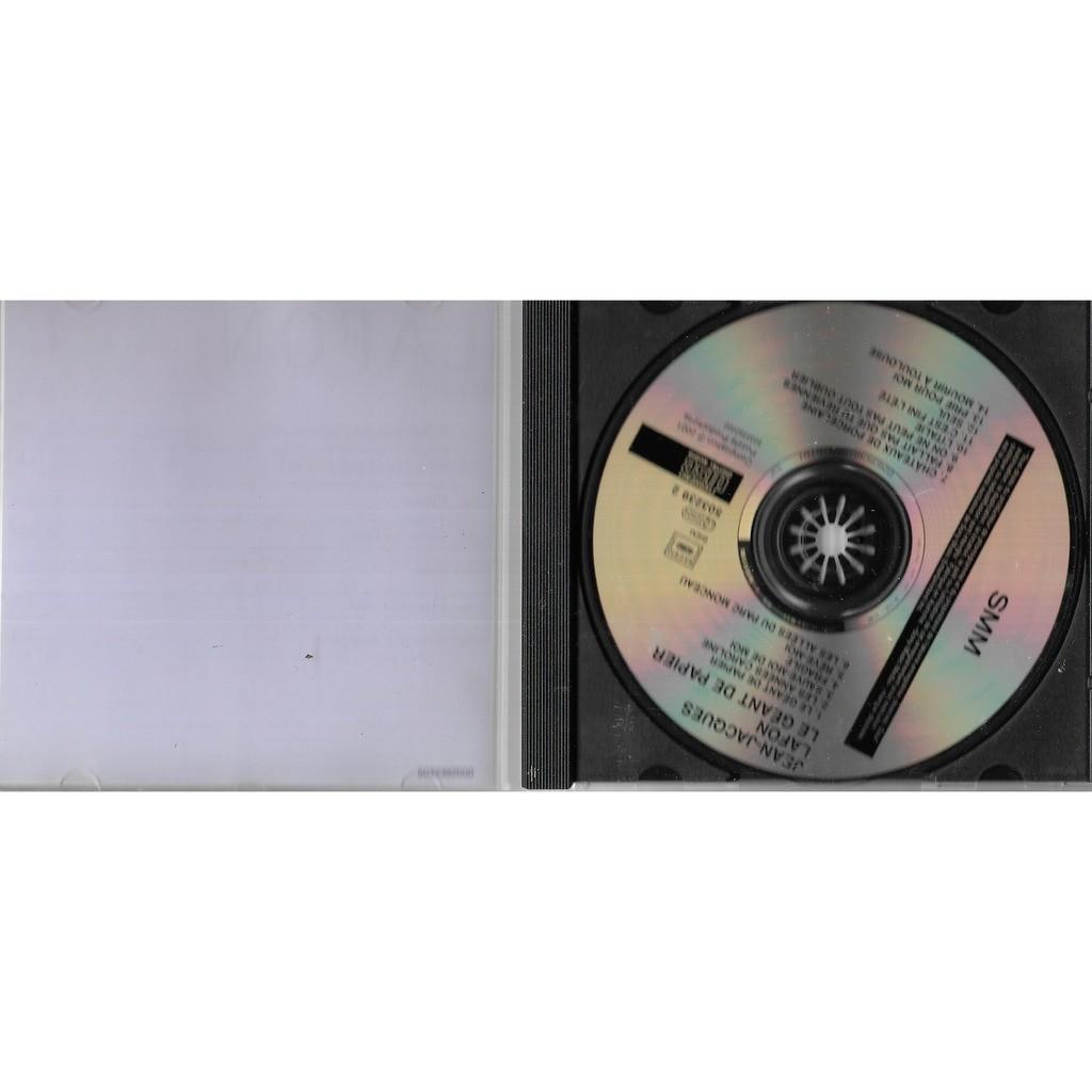 Hervorragend Le géant de papier by Jean Jacques Lafon, CD with libertemusic KW65