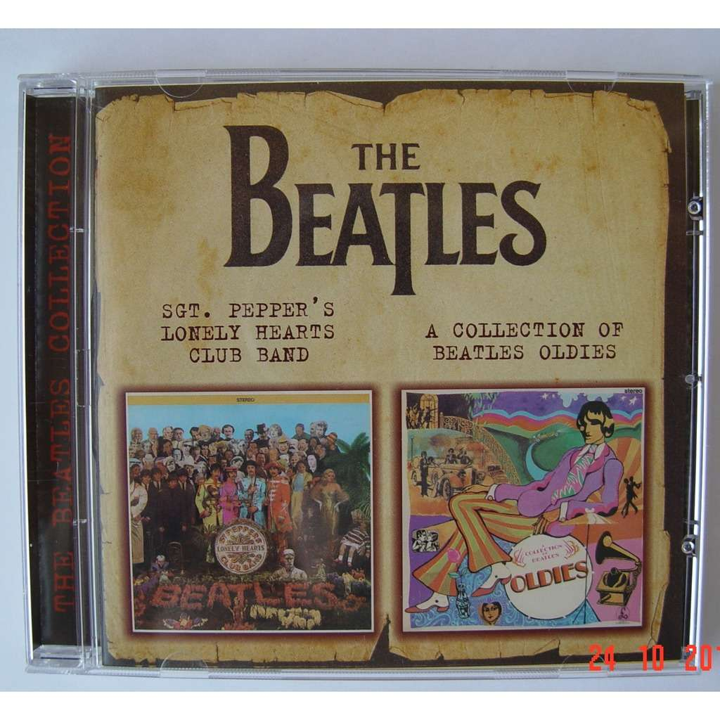 the Beatles Sgt.Pepper`s Lonely Hearts Club Band / a Collection of Beatles Oldies (CD-Maximum, 2000) Rus