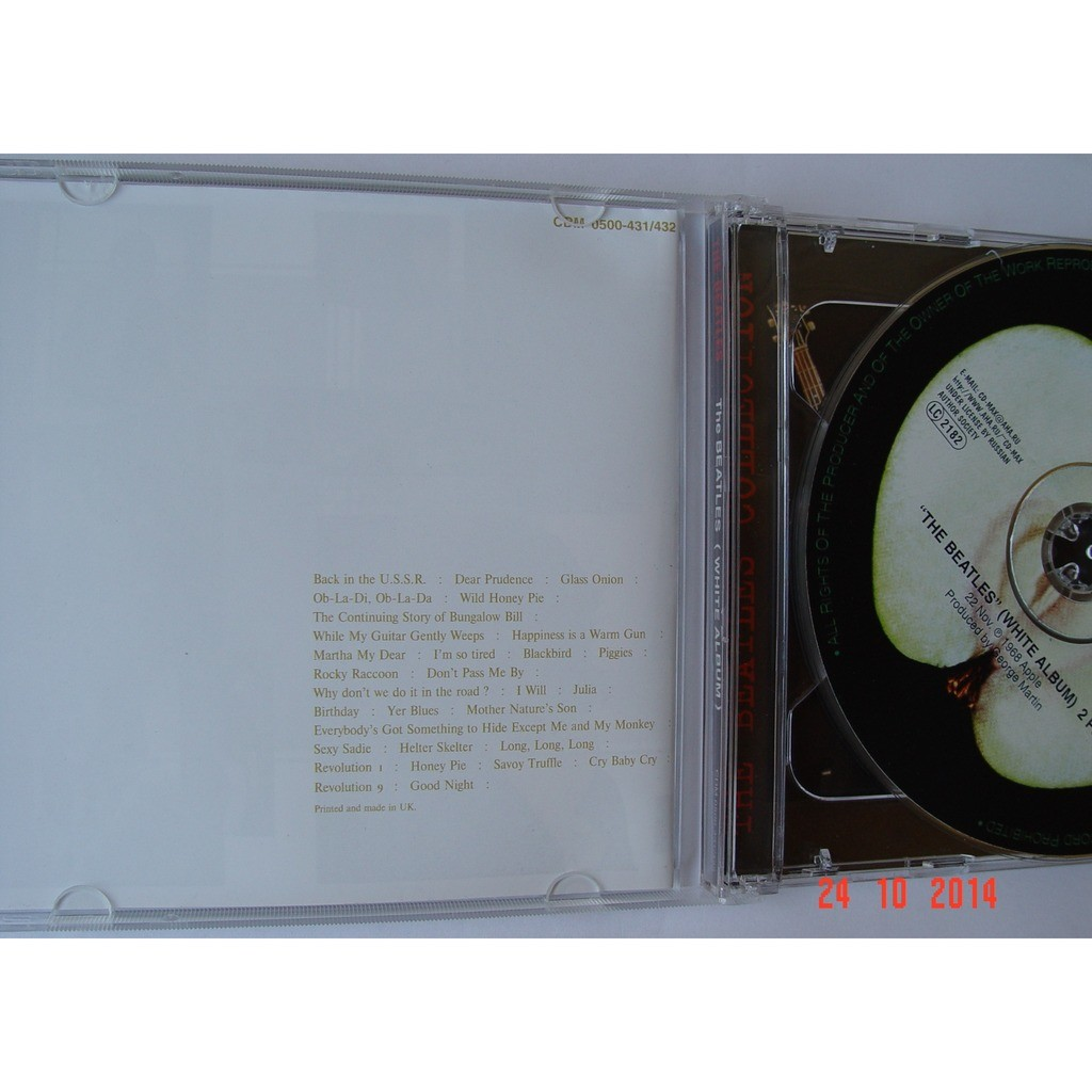 the Beatles White Album + Bonus Tracks 2CDs (CD-Maximum, 2000) Rus