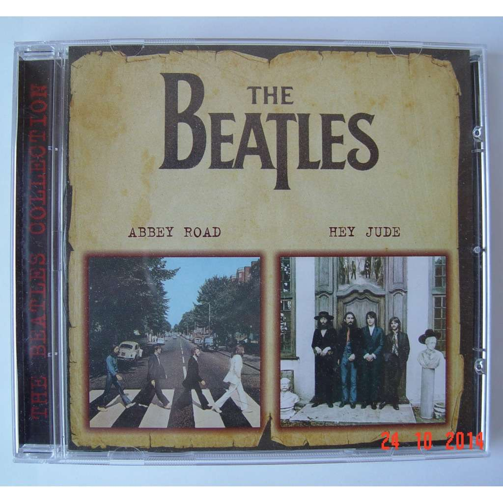 the Beatles Abbey Road / Hey Jude (CD-Maximum, 2000) Rus