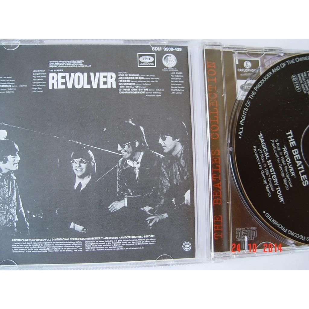 the Beatles Revolver / Magical Mystery Tour (CD-Maximum, 2000) Rus