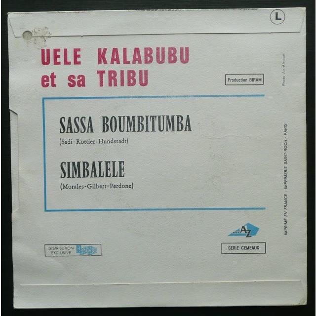 Uele Kalabubu Et Sa Tribu Sassa Bombitumba