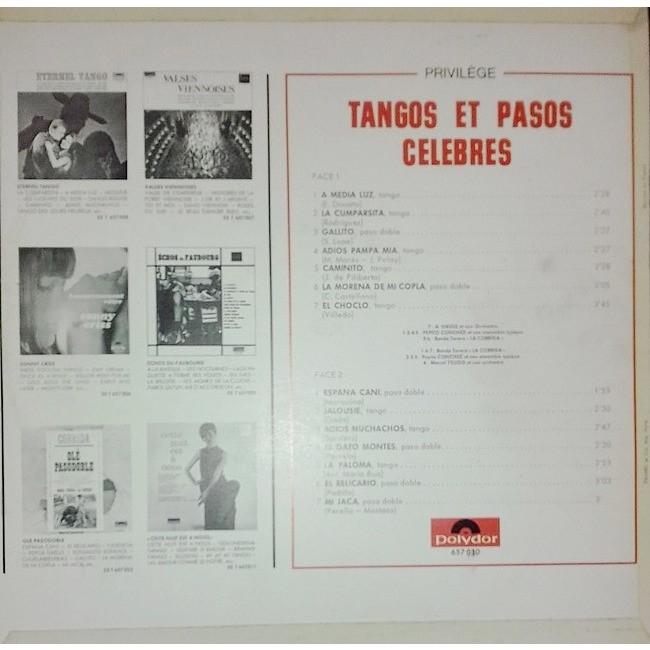 Various Tangos Et Pasos Célèbres