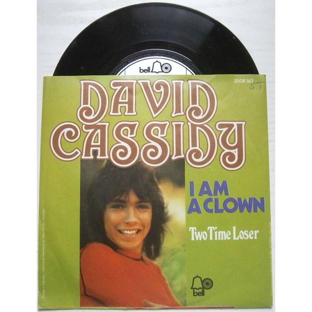 david cassidy i am a clown