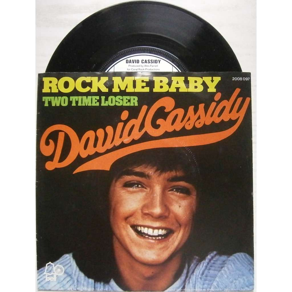 david cassidy rock me baby
