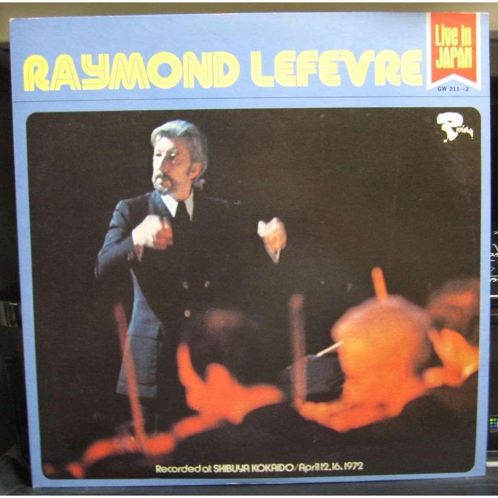 RAYMOND LEFEVRE Live In Japan -white label promo-