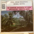 LE CANTOR BAGUETH ORCHESTRE VEDETTE JAZZ - Pesa ngai bolingo / Boma moto - 7inch (SP)